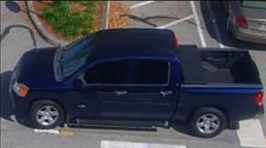 Detectives believe the females may have entered a blue Nissan Titan with running boards and a black tool box in the bed.