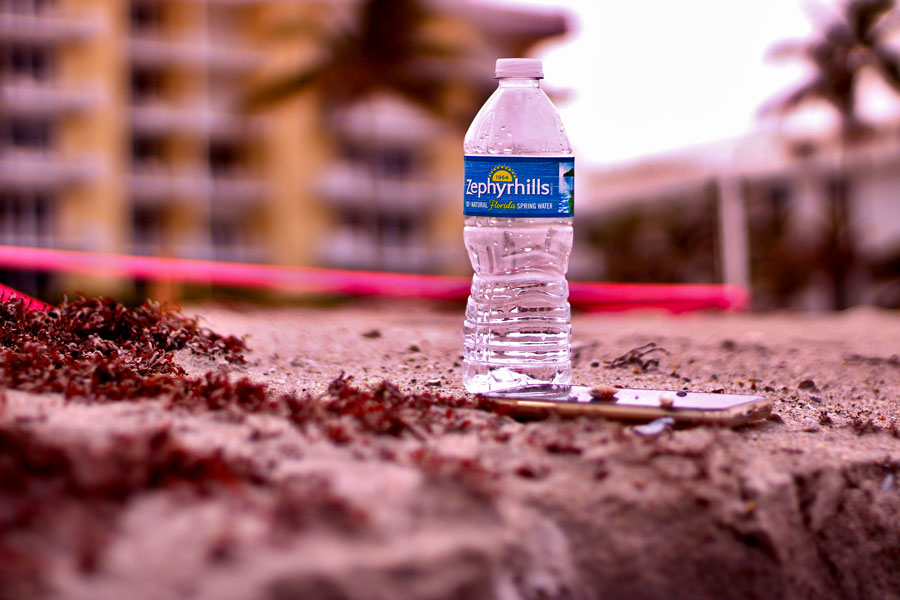 The bottled water of the same name, Zephyrhills® brand natural spring water is sourced from nearby Crystal Springs and Zephyrhills, Florida. The bottled water supplier is based in Zephyrhills on 20th Street. Photo credit: Robert Kearney / Shutterstock.com, licensed.