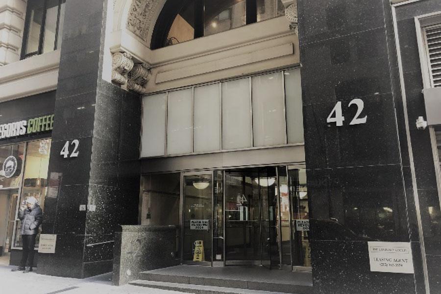 42 Broadway in Manhattan