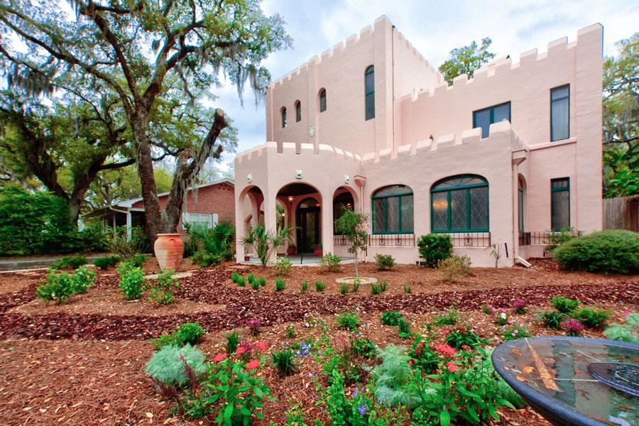 St. Augustine Historical Landmark, The Pink Castle