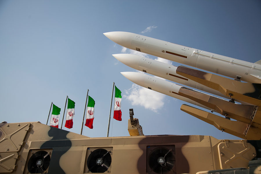 Missiles of the Armed Forces of the Islamic Republic of Iran. Photo credit: Saeediex, ShutterStock.com, licensed.