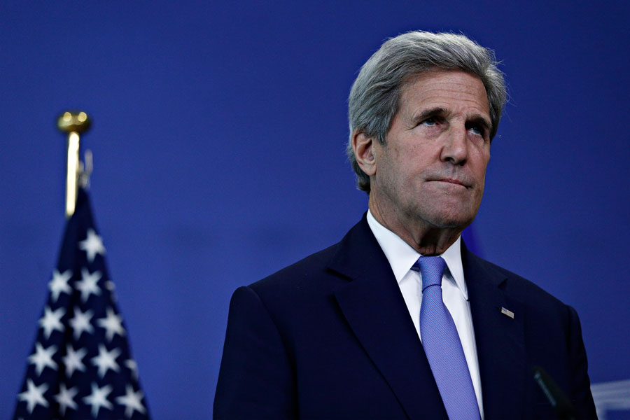 The latest cries of treason stem from a leaked interview with Iranian Foreign Minister Mohammad Javad Zarif who claims that the Secretary of State John Kerry informed Zarif about Israeli airstrikes on Iranian assets in Syria. File photo: Alexandros Michailidis, Shutterstock.com, licensed.