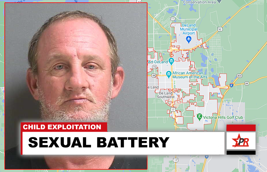 Wes Brough, 48 of DeLand, was identified as the subject seen in several videos sexually abusing a 4 to 5-year-old girl.