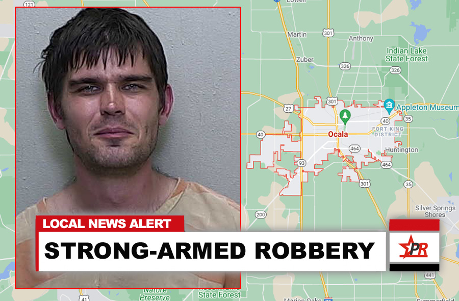 STRONG-ARMED ROBBERY