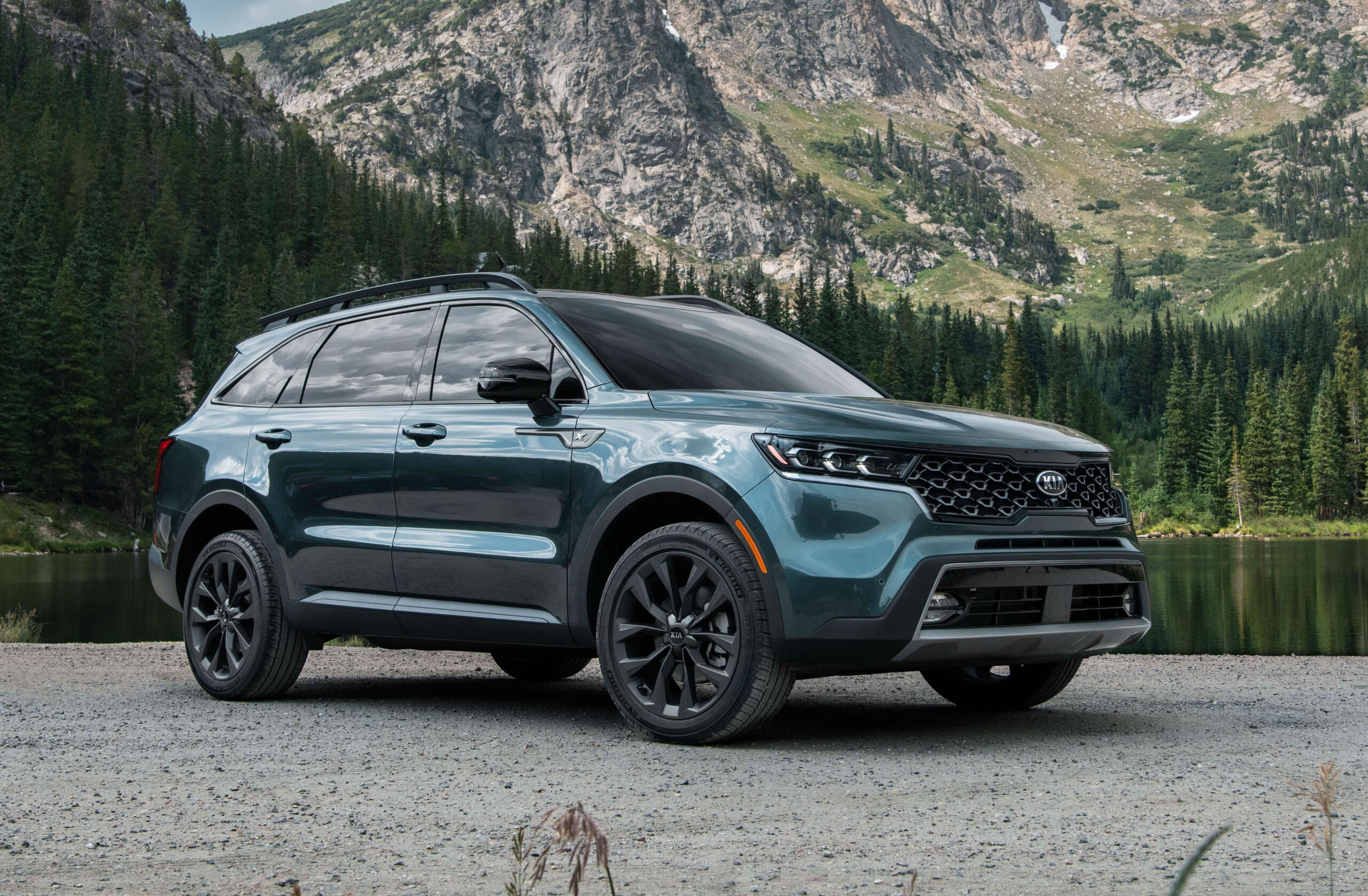 Award-winning vehicle recognized for safety and family convenience features. Sorento selected from more than 50 new model vehicles.