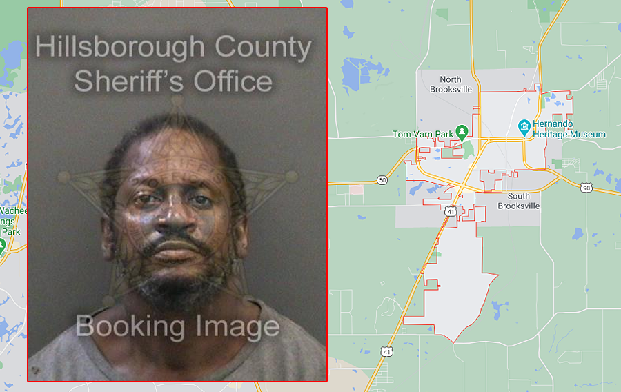 Tyrone Michael Brinkley, 52, was charged with Burglary of a Structure in reference to the burglary of the bank. He was also charged with Resisting without Violence for fleeing from law enforcement. Brinkley was transported to the Hillsborough County jail where he is currently being held without bond.
