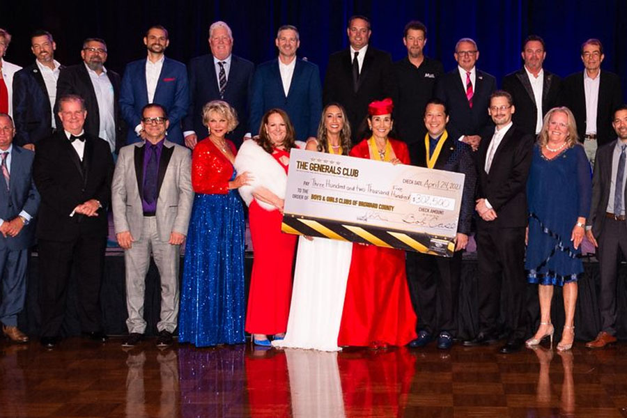 A total of $312,500 was raised from this life-changing philanthropic group of business and individuals.