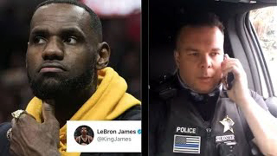 Video of Idaho Cop Mocking LeBron James Goes Viral with Nearly 4 Million Views