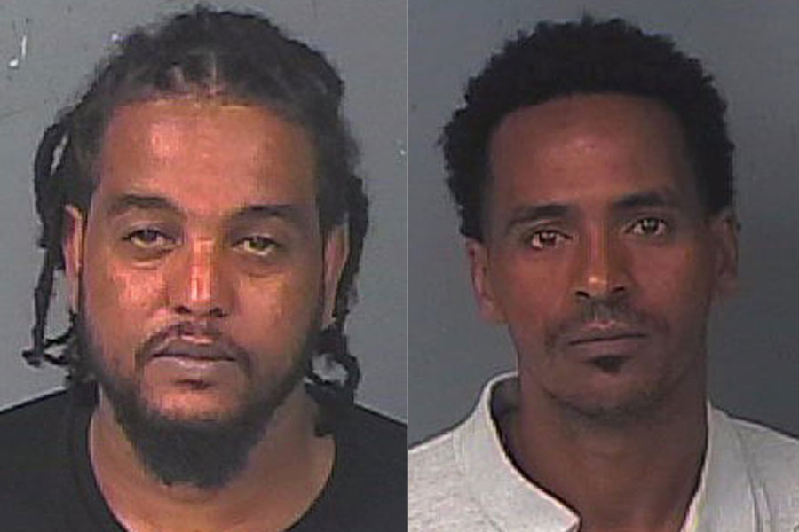 Upon execution of the search warrant, two employees, Samson Baryamichael, 33, (left) and Nayizg Nuwayu, 31, (right) were each charged with Keeping a Gambling House, in violation of Florida State Statute 849.01. They were transported to the Hernando County Detention Center where their bonds were set at $1,000 each.