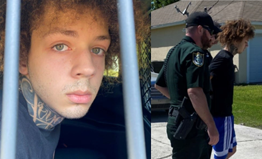 18-year-old David Reis was charged with aggravated battery with a deadly weapon and aggravated child abuse. Reis was located at his home in Palm Coast and taken into custody. He is being held at the Sheriff Perry Hall Inmate Detention Facility on a $17,500 bond.