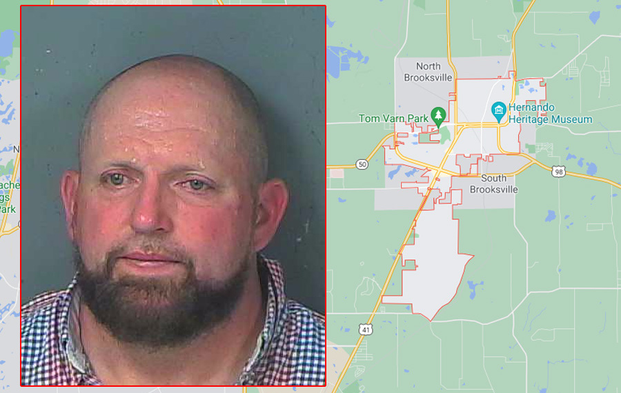 48 year old Aaron Martin was transported to the Hernando County Detention Center on a charge of battery on a person 65 years if age or older, a felony. Martin was initially held without bond due to the domestic nature of the incident. Today, during first appearance his bond was set at $5,000.