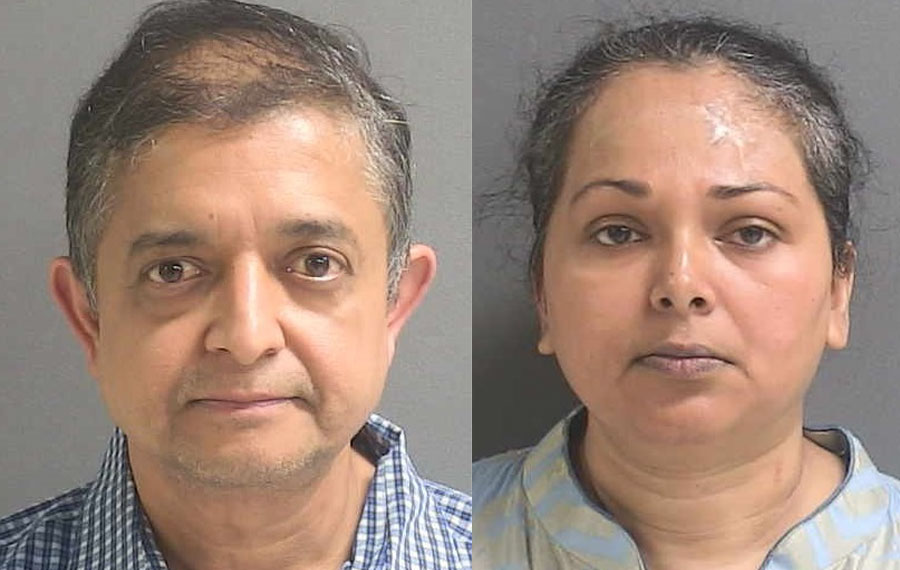Considered the ring's masterminds, the husband and wife were the last to be arrested Wednesday on warrants. Anis Ahmed, 53 was charged with conspiracy to deal in stolen property, organized dealing in stolen property, and two counts of dealing in stolen property. His wife, Selina Ahmed, 46, is charged with dealing in stolen property.