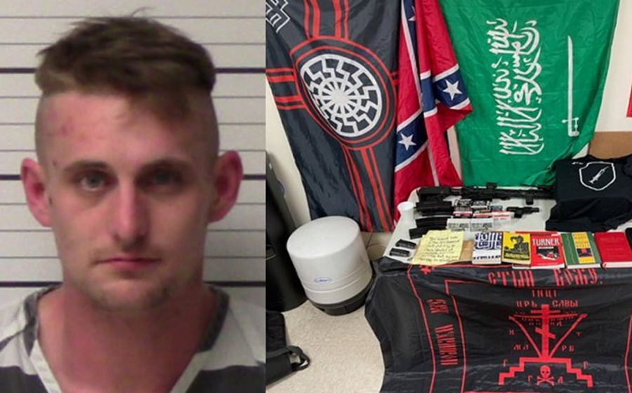 An apparent White supremacist in Texas has been arrested for planning a mass shooting at a Walmart, police said Sunday.
