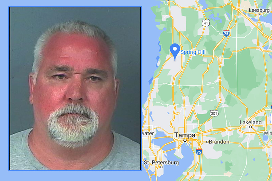 David Swenson, 53, admitted to absconding from California and failing to register in Florida. He was charged with failure to register as sex offender.