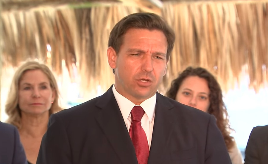 On Monday, Florida Governor Ron DeSantis suspended all local-government coronavirus emergency orders as he signed a bill that makes permanent his ban on COVID-19 vaccine passports and limits the authority of cities and counties in future healthcare crises.
