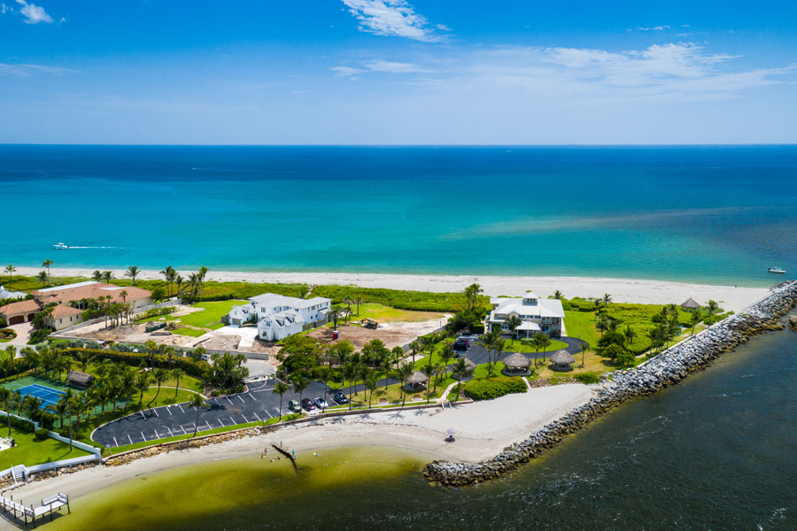 The town of Jupiter Island is located on the barrier island called Jupiter Island, in Martin County, Florida, United States; the town is part of the Port St. Lucie, Florida Metropolitan Statistical Area. Photo credit ShutterStock.com, licensed.