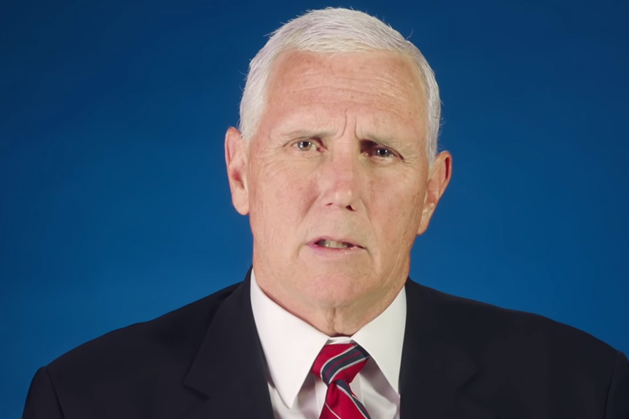 """Advancing American Freedom Chairman Mike Pence: """"If the world knows nothing else, let the world know this: America stands with Israel."""""""