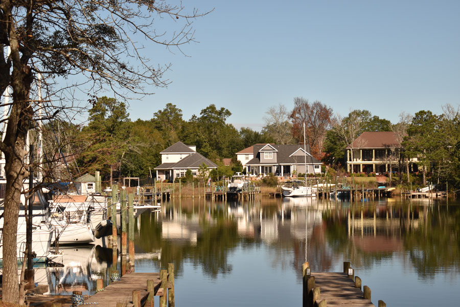 For the past 35 years, Bluewater Bay Yachts has been located at this family owned and operated Bluewater Bay Marina in Niceville Florida. Photo credit ShutterStock.com, licensed.