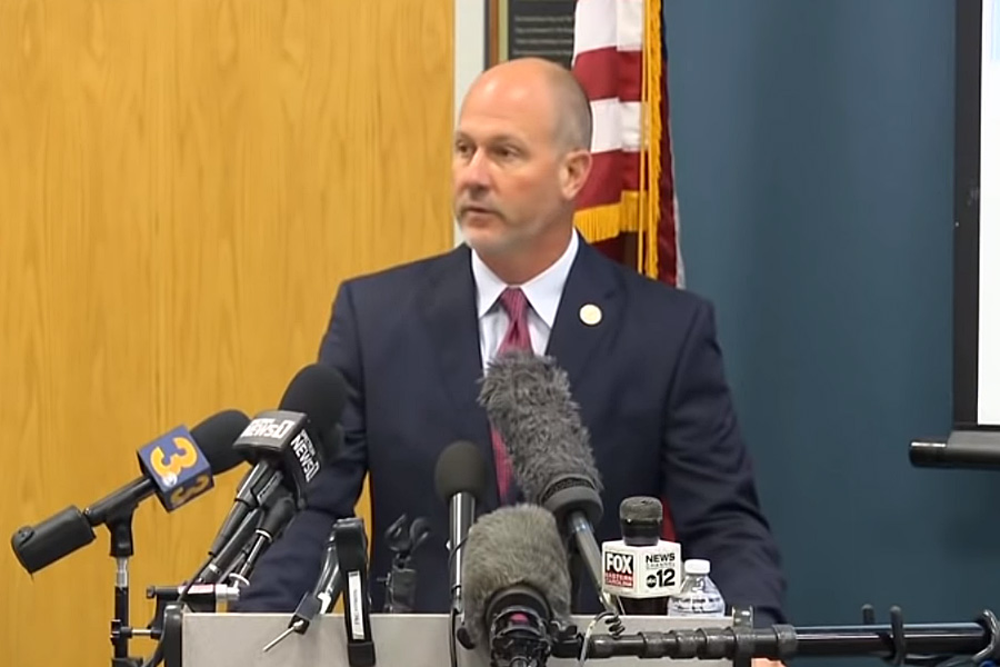 North Carolina District Attorney Andrew Womble declared the death of Andrew Brown was justified.