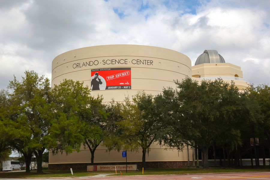 Orlando Science Center in Orlando, Florida, a private science museum. February 20, 2020. File photo: JHVEPhoto, Shutterstock.com, licensed.