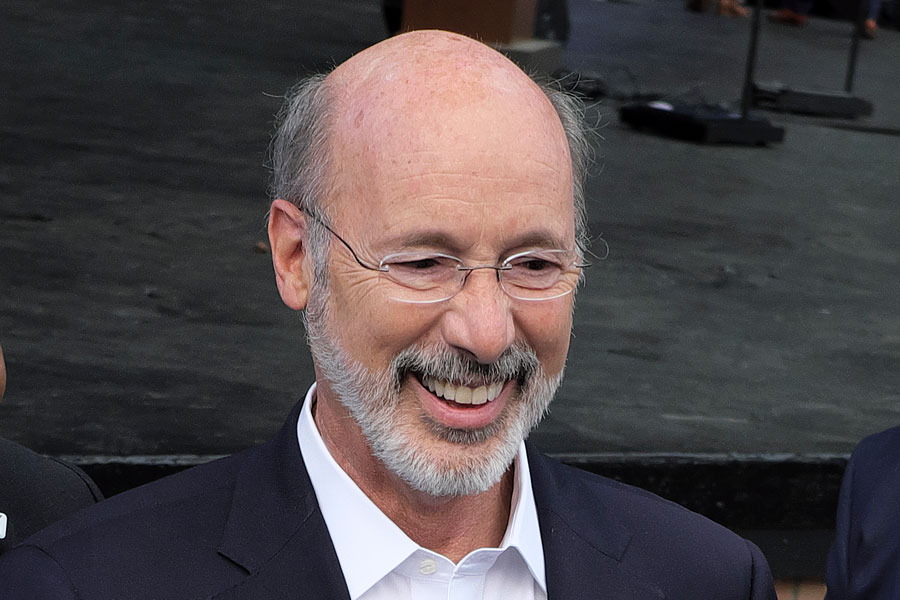 Democratic Governor Tom Wolf's handling of COVID-19 – including mandatory business closures, mask-wearing, and remote home schooling – has been repeatedly criticized by the GOP since the start of the pandemic. File photo credit: Matt Smith Photographer, Shutterstock.com, licensed.