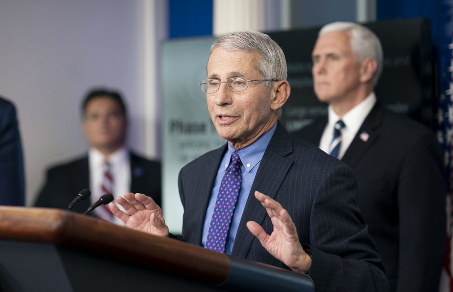 National Institute of Allergy and Infectious Diseases Director Dr. Anthony Fauci will be part of a probe due to mounting evidence the COVID-19 pandemic started in the Wuhan Institute of Virology and the Chinese Communist Party covered it up. Official White House Photo by Andrea Hanks.