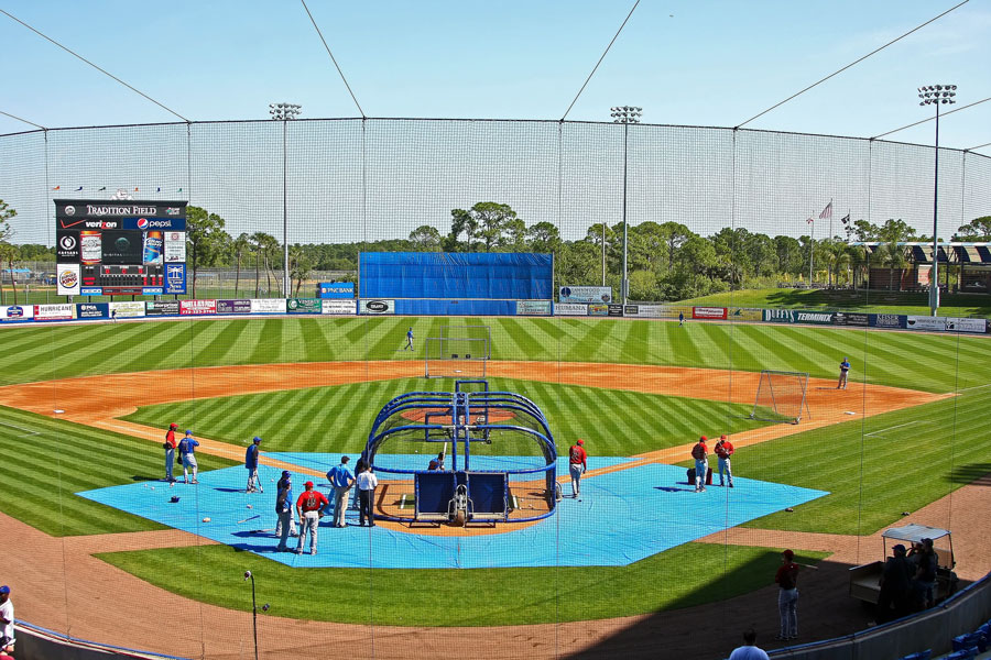 Formerly known as Tradition Field, the ballpark announced its new name will be Digital Domain Park on March 24, 2010 in Port St. Lucie, FL. File photo: Debby Wong, Shutterstock.com, licensed.