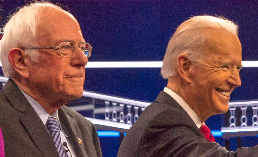 Just recently, both Bernie Sanders and Alexandria Ocasio-Cortez, have voiced praise for what Biden has put forth. According to them, it is beyond their dreams that Biden has adopted their socialist programs, hook line and sinker. File photo credit: Joseph Sohm, Shutterstock.com, licensed.