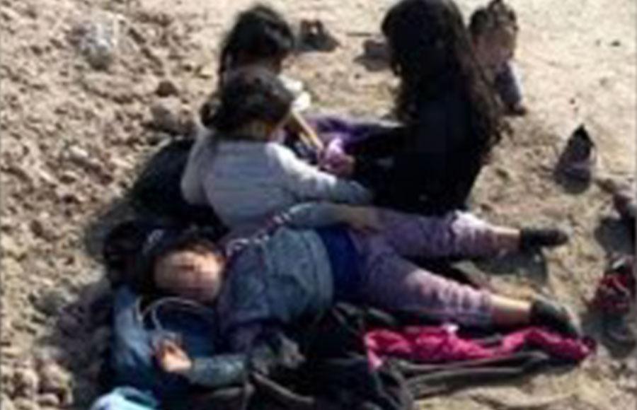 five unaccompanied migrant children