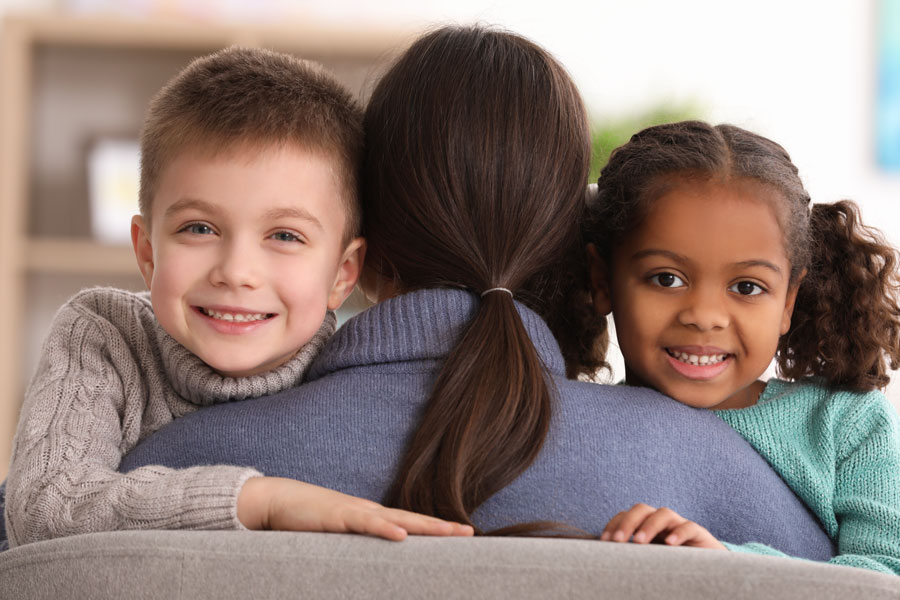 In Florida, prospective foster parents work with local community organizations to complete the licensing process to become a foster parent.  Photo credit ShutterStock.com, licensed.