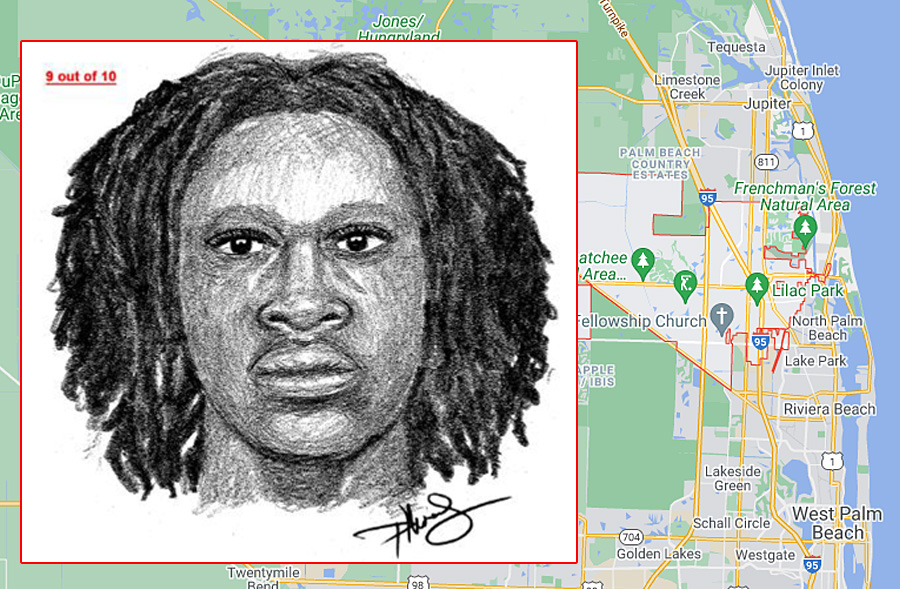 The above suspect is described as a black male in his 20's, standing at 5'10 with a medium build. The second suspect is described as a Hispanic male in is 20's standing at 6' tall with a slender build.