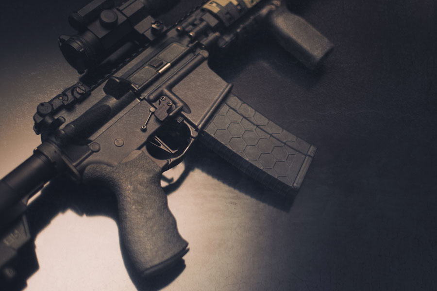 For over 30 years, California has banned certain types of semi-automatic rifles – such as the AR-15 – under a ban on assault weapons. However, on June 4, District Court Judge Roger Benitez of the appellate court threw out the ban. Photo credit ShutterStock.com, licensed.