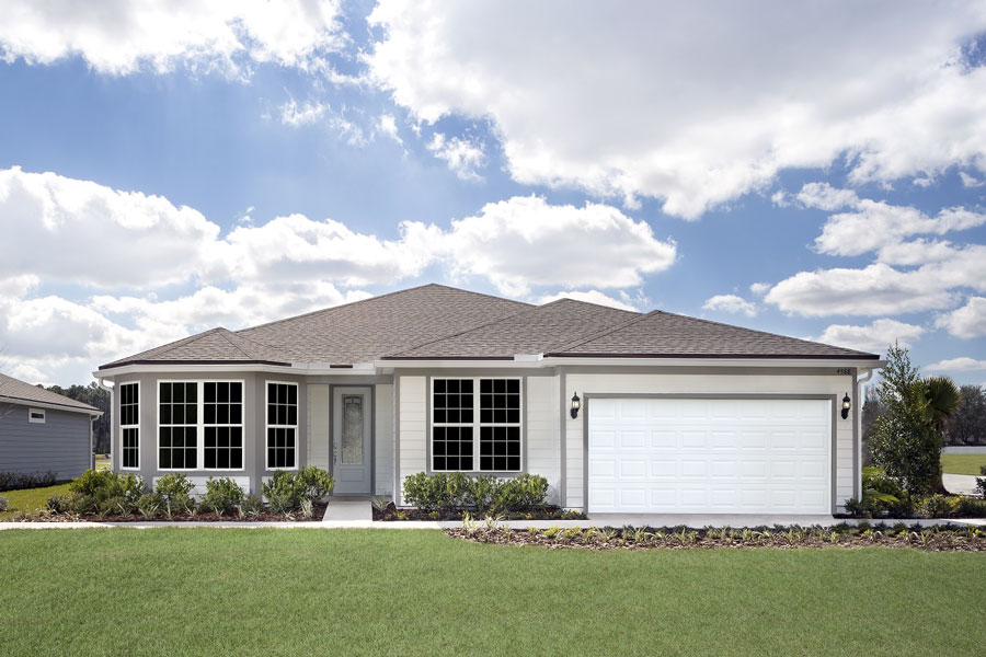 Pulte Homes received a gold award in the Northeast Florida Parade of Homes for its Ashby model at Bradley Pond.
