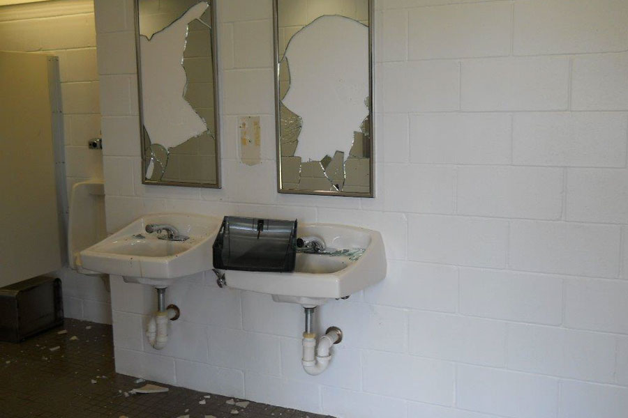 Vandalism to Village of Wellington