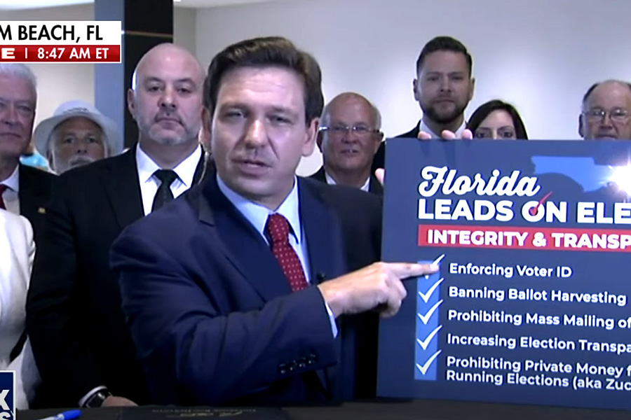 The Legal Battle Over The New Florida Election Law
