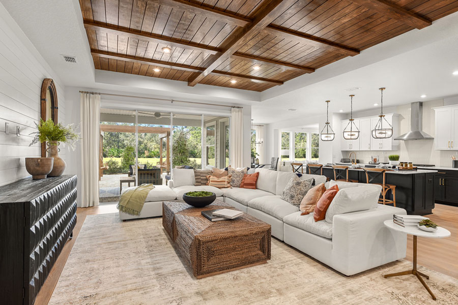 The Palmetto model at TrailMark by Drees Homes