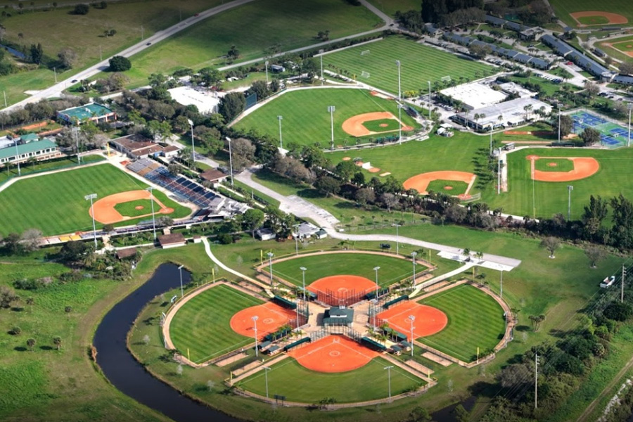 Jackie Robinson Training Complex, 3901 26th Street, Vero Beach, FL 32960