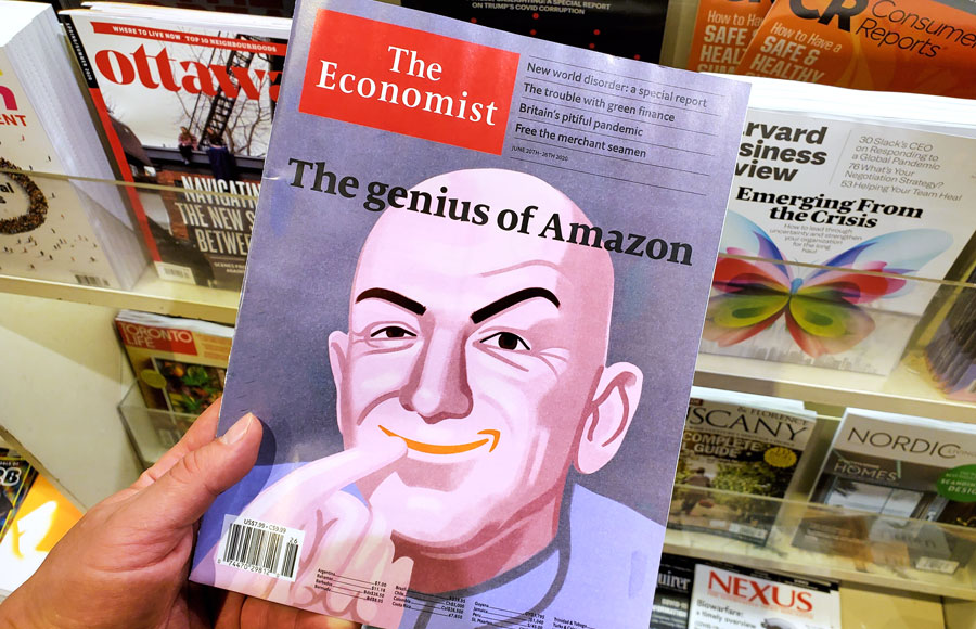 If Jeff Bezos' history of similar ventures can tell us anything, he will surely push to have the company collaborate with Amazon, which will increase his power even more. Absolute power corrupts absolutely, and this will not be the exception to the rule.