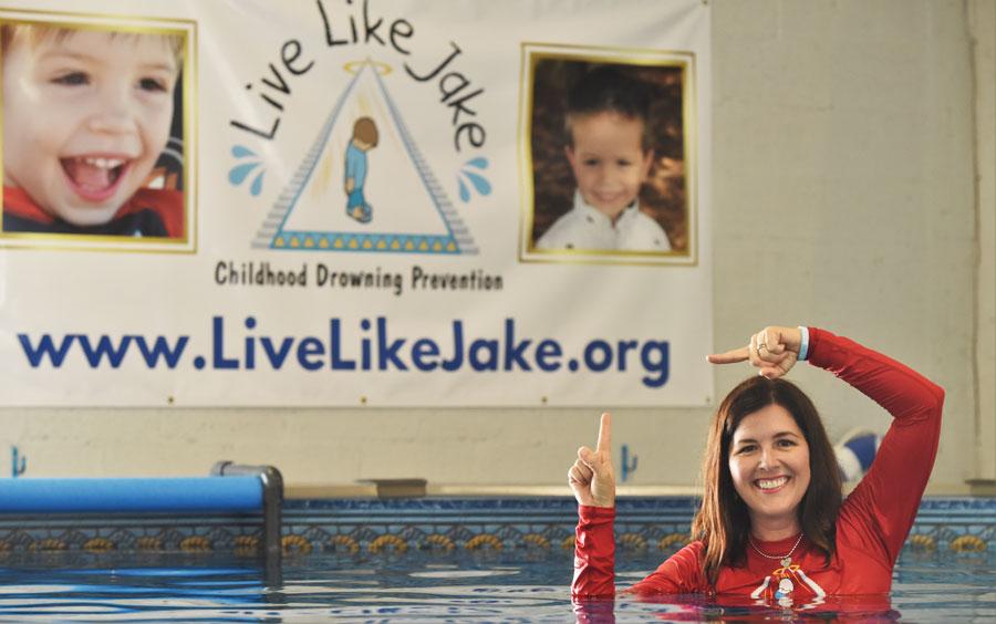 Keri Morrison founder of Live Like Jake Foundation (c) Jeffrey Langlois