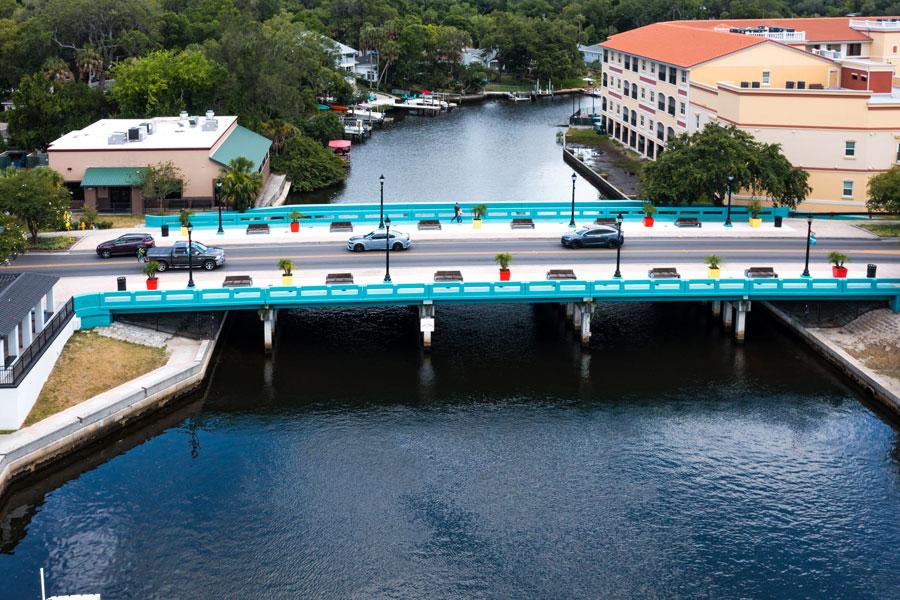 New Port Richey Cotee River Bridge