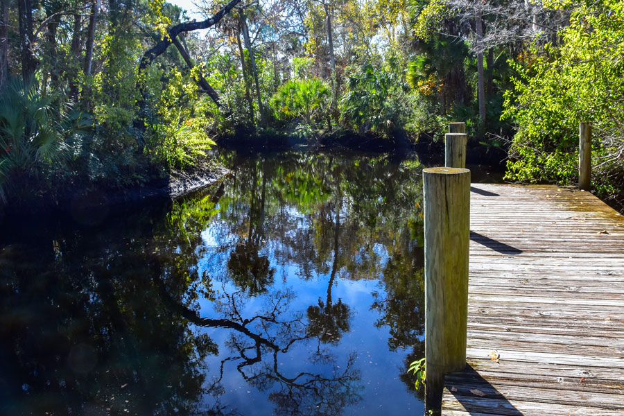 A beautiful place to hike or kayak, the trails and Pithlachascotee River provide an escape from urban life and a chance to get back to the nature of Old Florida.