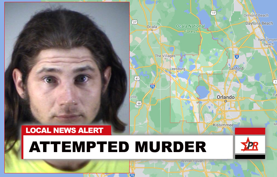 Pumphrey was arrested early Friday morning on charges of attempted murder and shooting into an occupied structure. He is being held in the Lake County Jail on $30,000 bond.