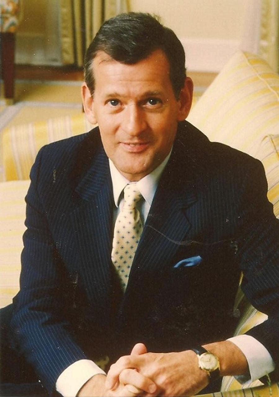 In Prime Minister Bob Hawke's living room in Canberra Australia in 1986.