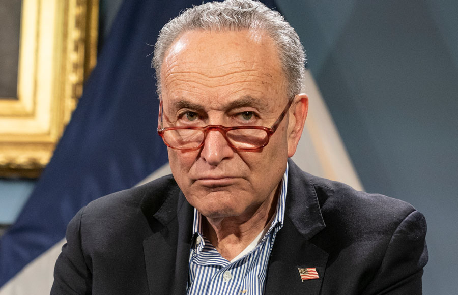 Senator, Chuck Schumer, the all-powerful (Jewish) Senate Majority leader, has self described himself as Shomer Yisroel, claiming to be the staunch defender of Jews and Israel.