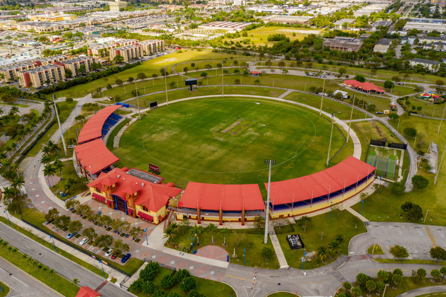 The Central Broward Park and Broward County Stadium, a large county park and the only cricket stadium in Lauderhill, Florida, and the United States. It is owned and operated by Broward County.