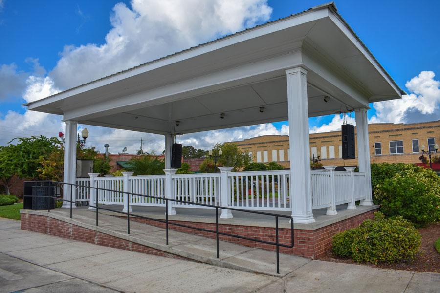 Downtown Wauchula Florida Architecture