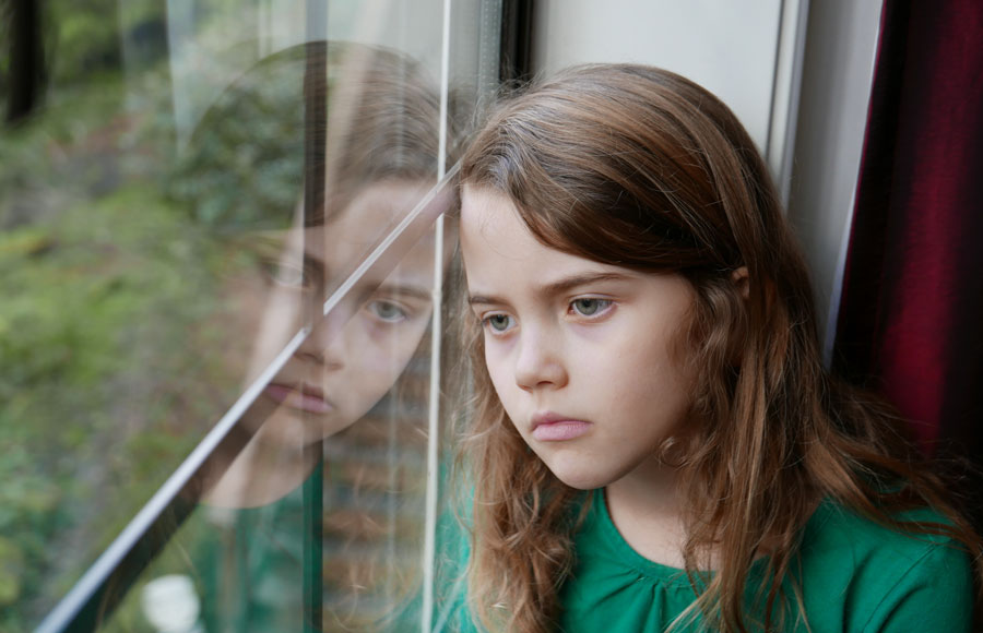 """Nearly one in four adults living in households with children said they felt """"down, depressed or hopeless,"""" according to a new report from the Annie E. Casey Foundation."""