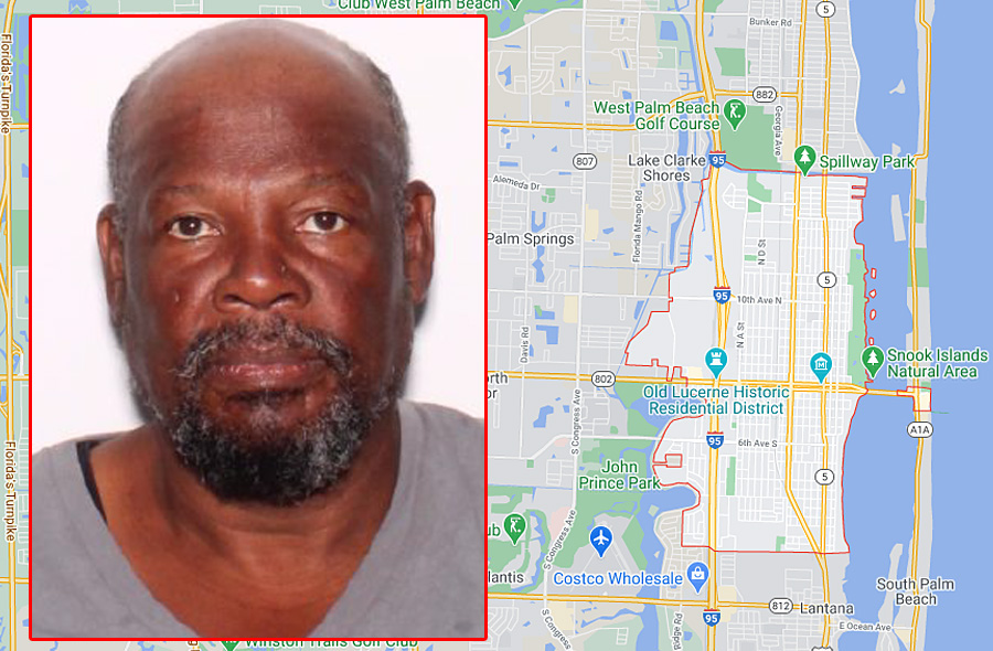 In accordance with Chapter 775 the Palm Beach County Sheriff's Office is advising the public about a declared Sexual Predator who is now residing in the area of Lake Worth Beach, FL, Palm Beach County.
