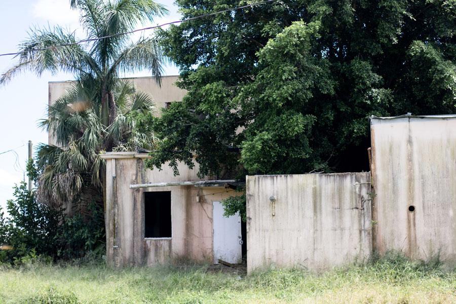 Everglades Memorial Hospital, an abandoned hospital in Pahokee, Florida