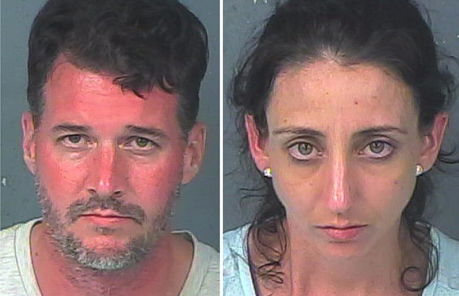 Rodney Patrick Brewer, 40, and Jennifer Marie Brewer, 36, were arrested on June 17 in connection with 19 construction burglaries and the more than 200 stolen items previously located in storage units at CubeSmart.